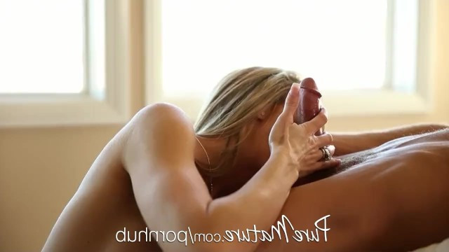 After warming up for a while, super hot milf Brandi Love gets a gigolo for passionate fucking