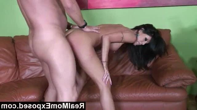 Big tit brunette milf Tabitha Stevens enjoying a hot fuck with her friend