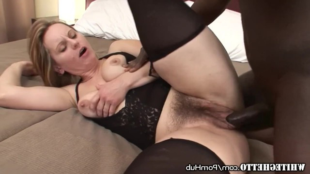 Black man fucks only with white milfs as they are experienced and passionate