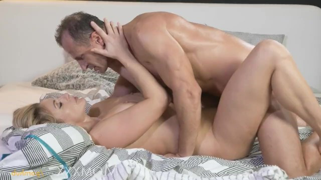 Blonde milf wife Brittany Bardot had hot sex with her lover