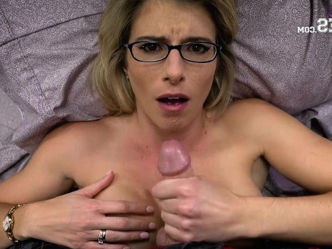 Blonde pornstar Cory Chase knows how to be seductive during a beautiful sex with a man