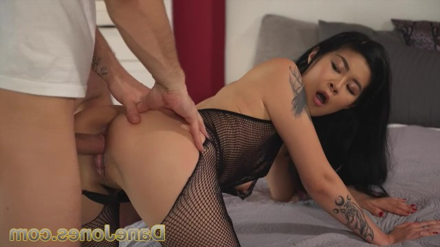 Dude wanted love and he took himself an asian slut for one fucking