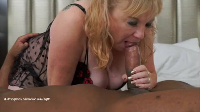 Ebony likes mature women, so he bangs the experienced BBW with his cock