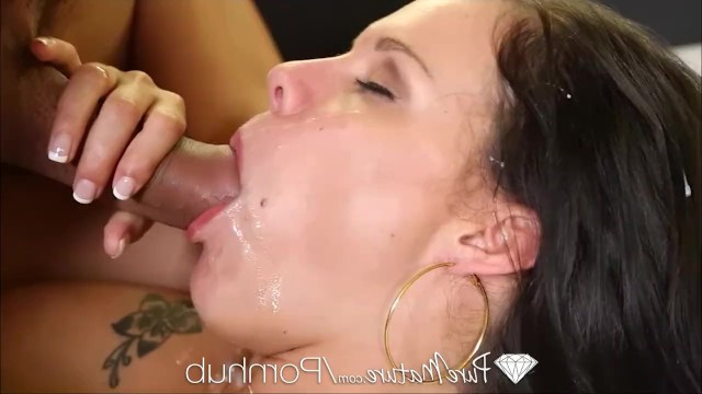For lover sexy busty milf Peta Jensen smartly dressed up and fucked with him