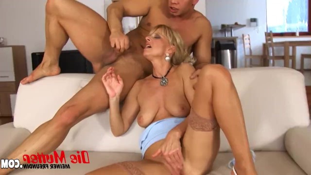 Guy dedicated a gorgeous cunnilingus to the mature lady and fucked her hard