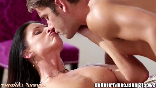 Guy had a row with his girlfriend and fucked mature India Summer