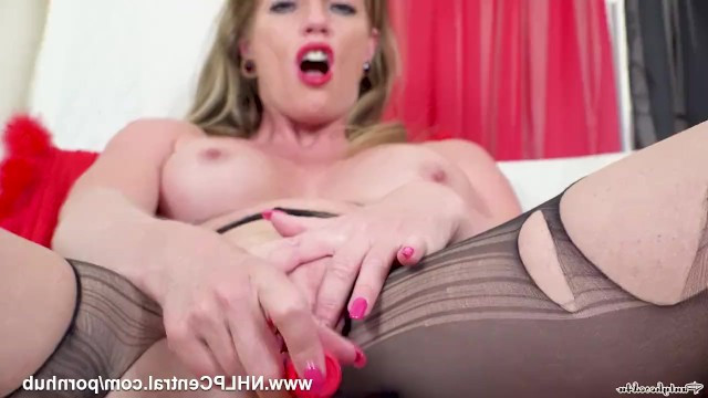 Hot milf Holly Kiss slid down to the fact that she spends all day masturbating her cunt solo