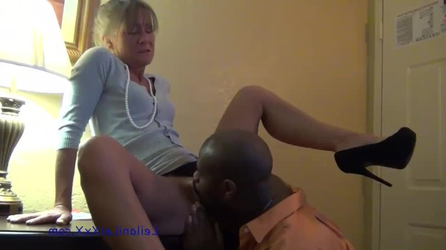 In her old age horny grandma wanted to pleasure black cock and to fuck with a black man