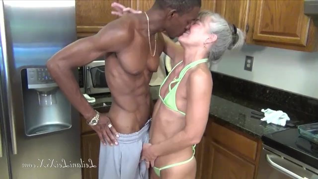 In her old age, the mature granny realized that she loved to fuck with strong ebonies
