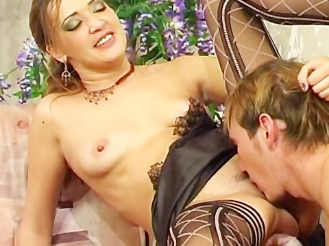 Instead of a movie hairy russian milf convinced guy on hot sex