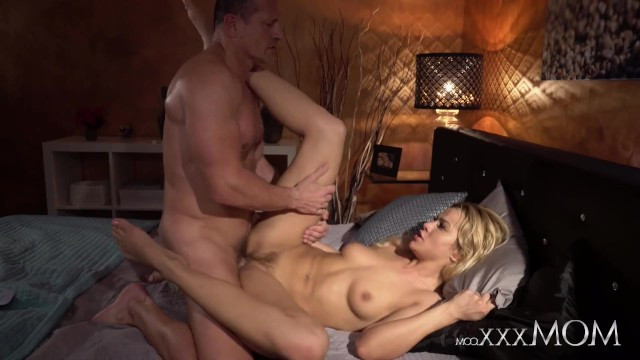 Man proves to milf Cherry Kiss that he can fuck her as hard as his ex wife