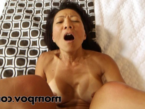 Mature Asian shows off her talents and fucks with the agent at the casting