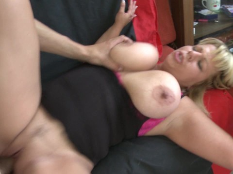 Mature big boobs milf is bonked in pussy by her young partner