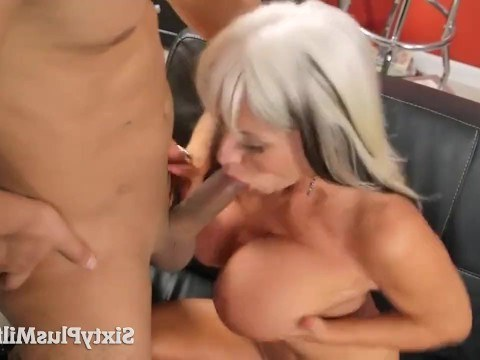 Mature lady is in her 60s and she decided to try anal sex