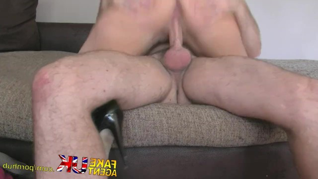 Mature lady made my dreams come true and fucked two guys on the sex casting