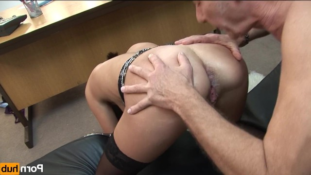 Mature milf cares about the health of her old boss and fucks with him in anal