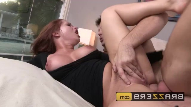 Mature milf was caught on stealing and fucked hard by angry man