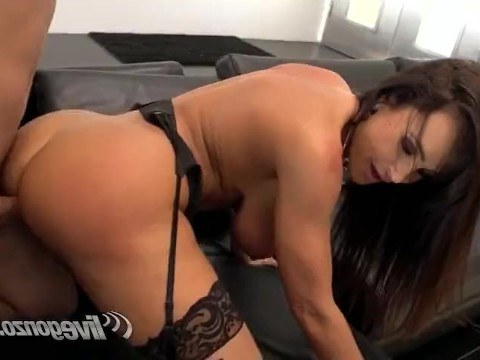 Mature slut Lisa Ann loves her job and is having hardcore sex with another client