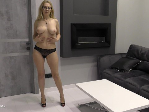 Mature teacher tired of working for a penny and decided to visit anal casting