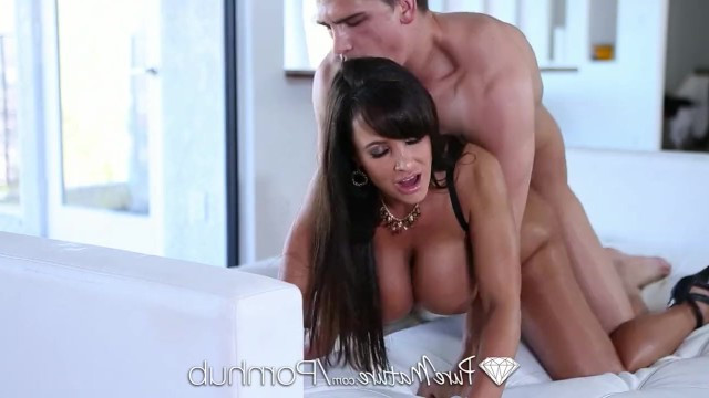 Milf lisa Lisa Ann made good blowjob to the big dick