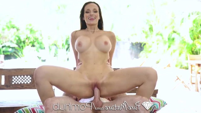 Natural busty brunette Lexi Luna called her boyfriend and he immediately came to fuck her