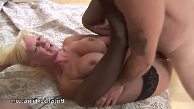 Partners roughly fucked with two dicks in anal and pussy of white blonde milf