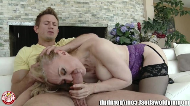 Single mother Nina Hartley misses her son so much that she agreed to incest