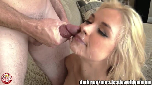 Stepson became an adult, so he decided to finally fuck mature stepmom