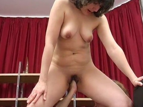 Stepson took his lustful stepmom down and fucked hard for betraying his father