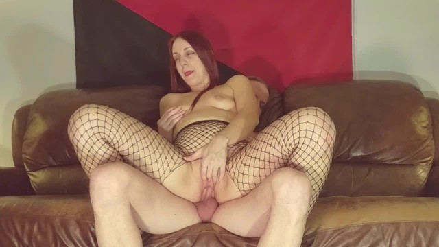 The man put away his stuff and pleased the mature milf with cool sex