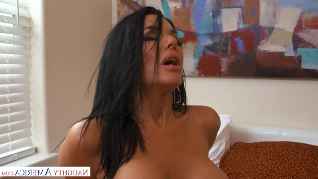 Veronica Avluv found her son's friend asleep and had hot sex with him